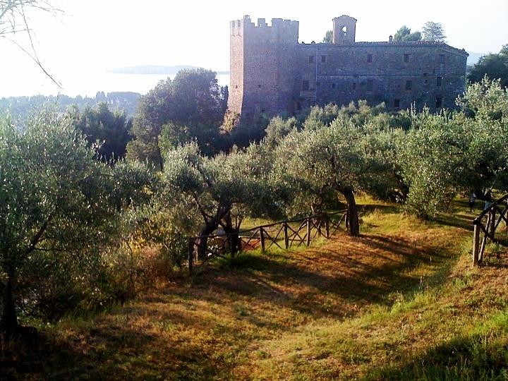 Badia di Sant'Arcangelo, Lake Trasimeno, Umbria