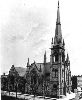 Woodward Avenue Baptist Church — Historic Detroit