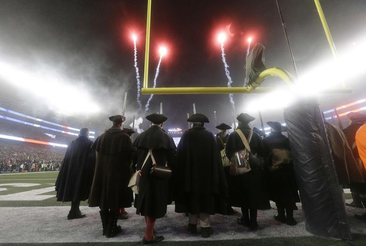 The New England Patriots take on the Pittsburgh Steelers in the AFC Championship at Gillette Stadium on Sunday, January 22, 2017.
