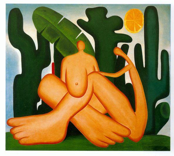 Tarsila do Amaral, pintora brasileña que adoro.