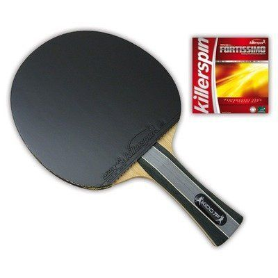 Killerspin 100-29 RTG Kido 7P Premium Table Tennis Paddle, Straight by Killerspin. $149.99. The Kido7P RTG Premium is an advanced ITTF approved competition racket designed for players who enjoy a dynamic all-around game. It is a custom designed pre-assembled racket made by Killerspin and built to meet all tournament quality standards and increase the level of your game. We have personally assembled this racket using our Kido7P blade along with 2 ITTF approved F...