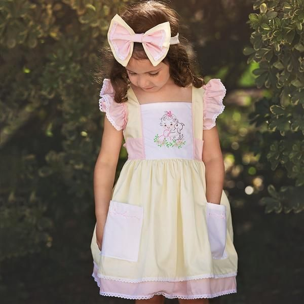 Haute Baby Cutie Pie Dress Infant Toddler Girls Zandy Zoos Toddler Dress Girls Boutique Clothing Easter Outfit For Girls