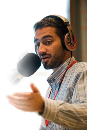 Lecturer, broadcaster and champion of multiculturalism, Waleed Aly is nominated for the Victorian Local Hero award