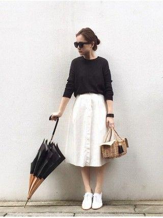 Buttoned Skirt!
