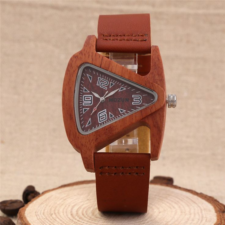 2016 Sandalwood Wood Watch Men Luxury Watches MOZUN Quartz Watch Women Dress Watches Ladies Wristwatch Men's Hours Montre Femme