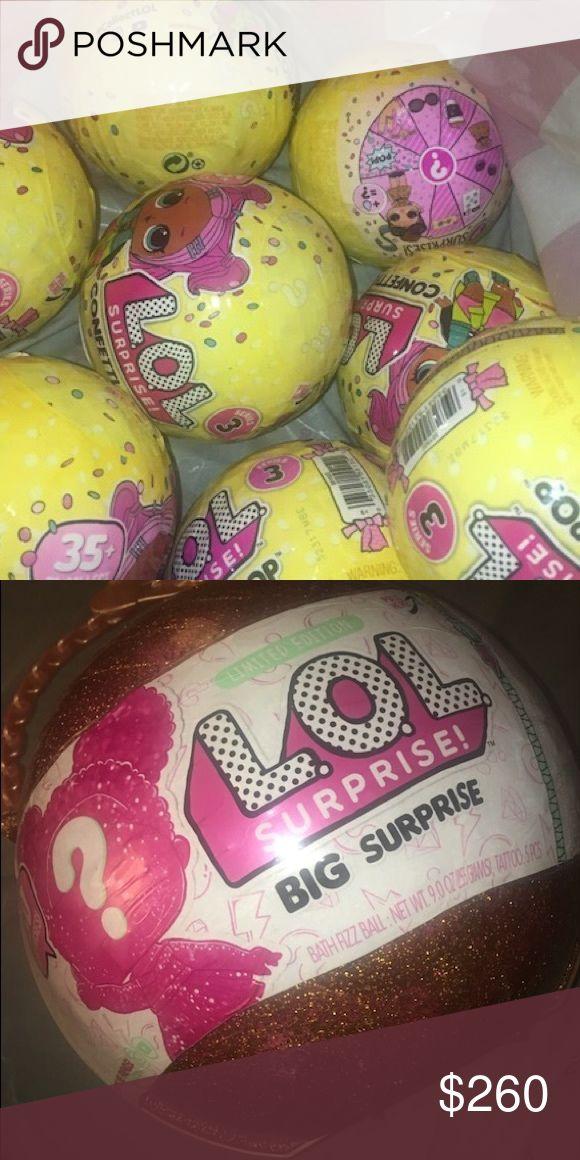 9 Lol surprise dolls 1 Big surprise pack 9 surprise LOL
