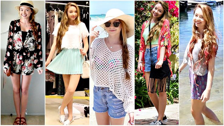 Outfits of the Week: Summer Break! - StilaBabe09