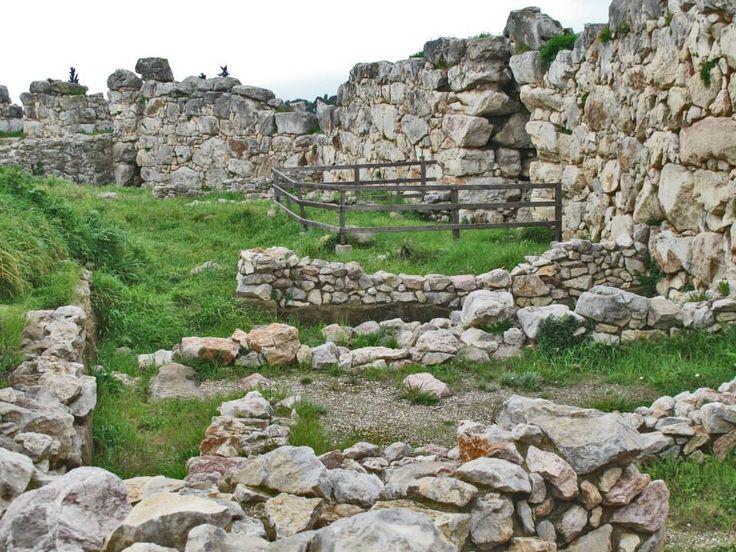 Ancient Tiryns Mycenaean Citadel (16th c. BC)