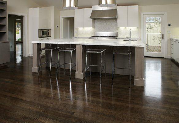 how to make hardwood floors darker