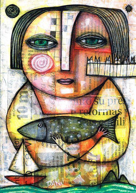 MARINE LADY by Dan Casado by Dan Casado, via Flickr