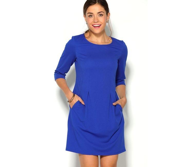 Šaty s 3/4 rukávy a kapsami   modino.cz #ModinoCZ #modino_cz #modino_style #style #fashion #bestseller #dress