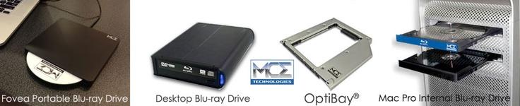 MCE OptiBay for (non-Unibody) MacBook Pro 15-inch and (non-Unibody) MacBook 13-inch (White/Black): MCE Technologies Online Store