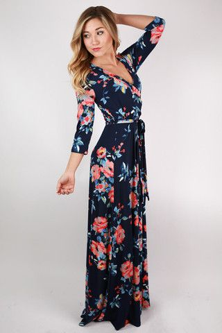 "The ""Fields Of Pretty Maxi"" is so elegant, you'll never run out of reasons to wear it!"