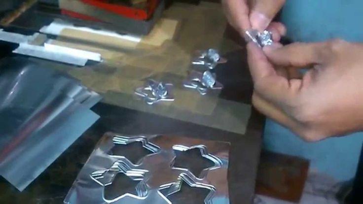 Repujado de aluminio para manualidades http cryptblizz - Como se hace manualidades ...