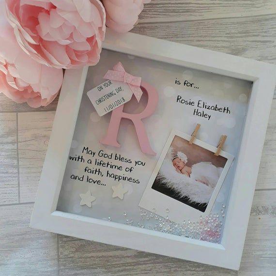 Betere Christening Gift | Baby Gift | Wooden Initial Gift | Baptism Gift YT-26