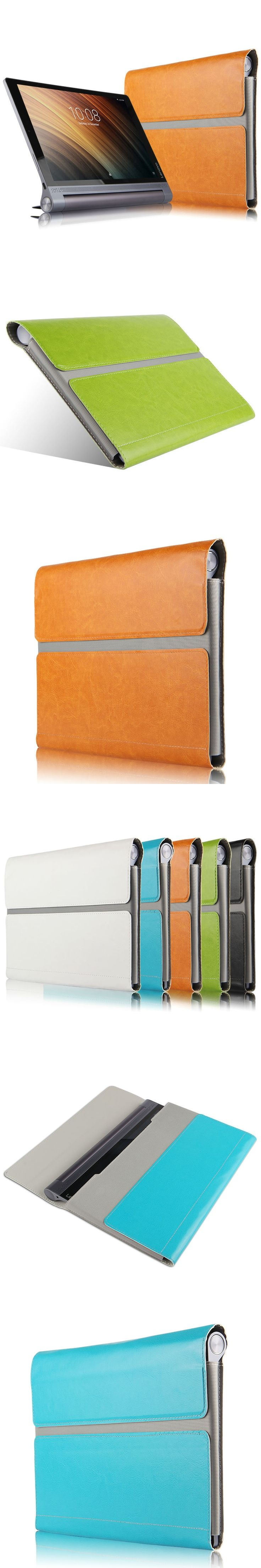 Case For Lenovo Yoga B6000 Protective Smart cover Leather Tablet For Lenovo YOGA B6000 H