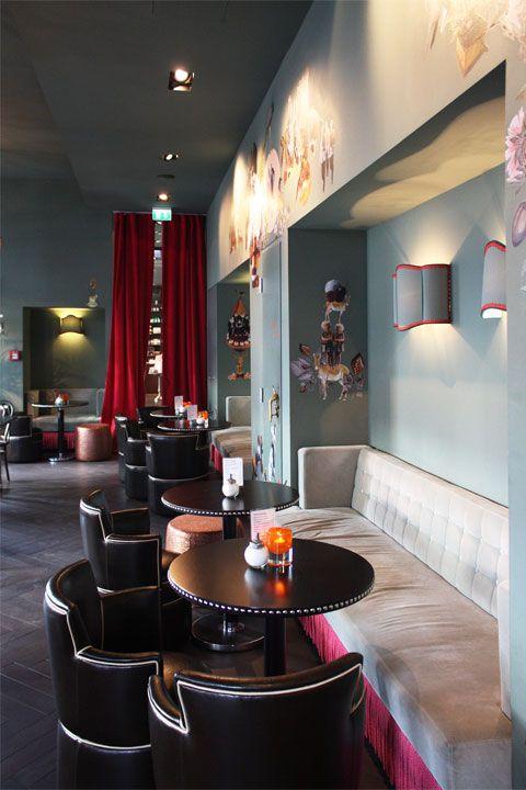 Jetzt nur nicht schwach werden! - Anfang 2012 eröffnete die Chocolaterie Bitter & Zart in Frankfurt ein neues Ladengeschäft mitsamt einem Kaffeehaus im französischen Stil.
