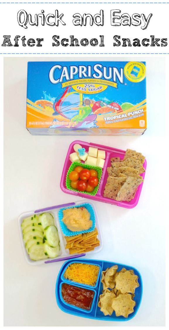 Quick and easy after school snacks the o 39 jays schools for Easy after school snacks for kids to make