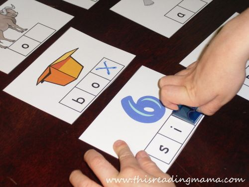 Stamp the X-phonemic awareness for letter X | This Reading Mama
