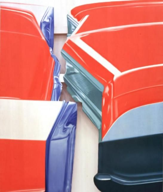 Car Touch, 1966, James Rosenquist
