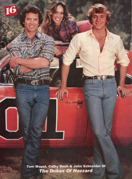 Dukes of Hazzard - loved!  Even had a Bo and Luke poster on my wall.