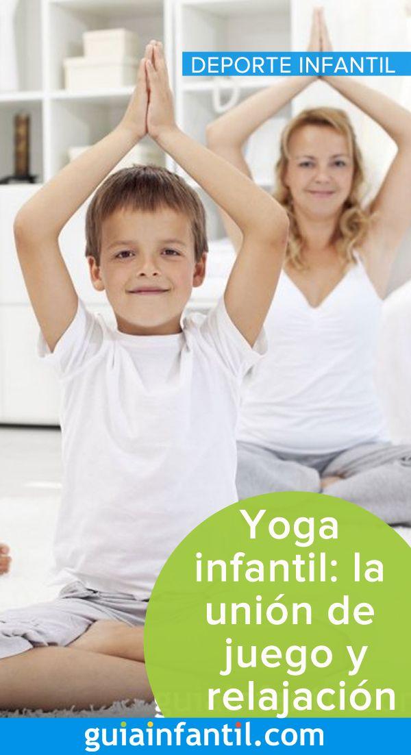El yoga es un deporte genial que ayuda a los niños a unir el juego y la relajación #yoga #niños #GuíaInfantil Gymnastics, Peace, Exercises, Games, Sports