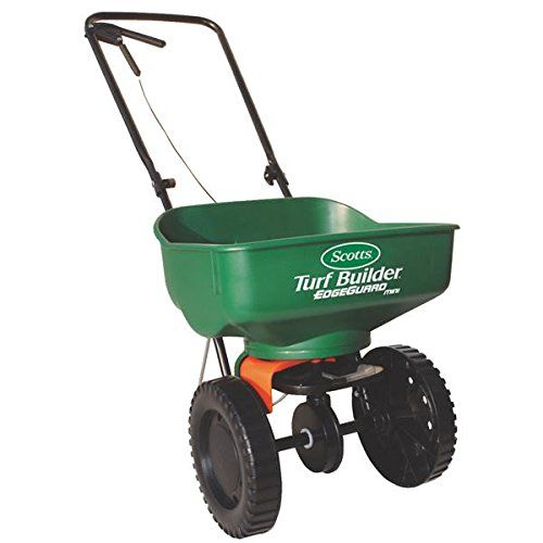 http://picxania.com/wp-content/uploads/2017/10/scotts-76121-turf-builder-edgeguard-mini-spreader.jpg - http://picxania.com/scotts-76121-turf-builder-edgeguard-mini-spreader/ - Scott's 76121 Turf Builder® EdgeGuard® Mini Spreader -   Price:    76121 Features: -Mini spreader. -Keeps fertilizer off landscaping, waterways and sidewalks. -Less waste and clean-up. -Better for the environment. Product Type: -Seed Spreader. Generic Specifications: -Holds up to 5000 square feet. Gen