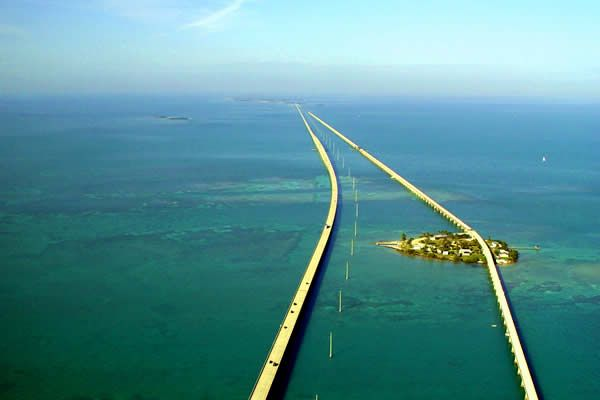 Key West, Florida, USA long bridge