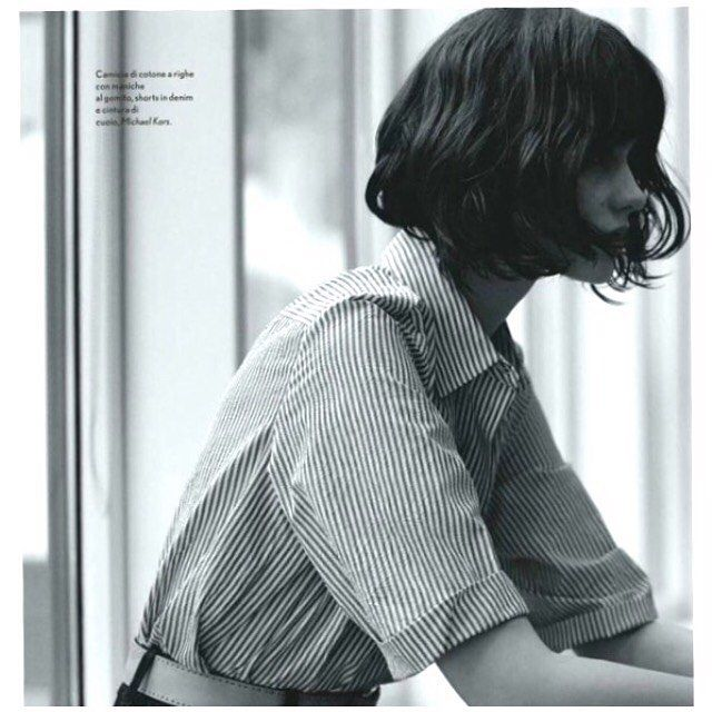 A little Friday morning inspiration #bobspiration #tgif #edosalon #sfstylist #bobhaircut @laurenceellis