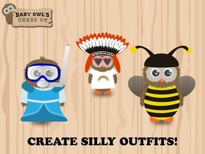 I don't know a child who doesn't enjoy the game of dress up.  Baby Owl's Dress Up is a brand new app that makes dress up a digital experienc...