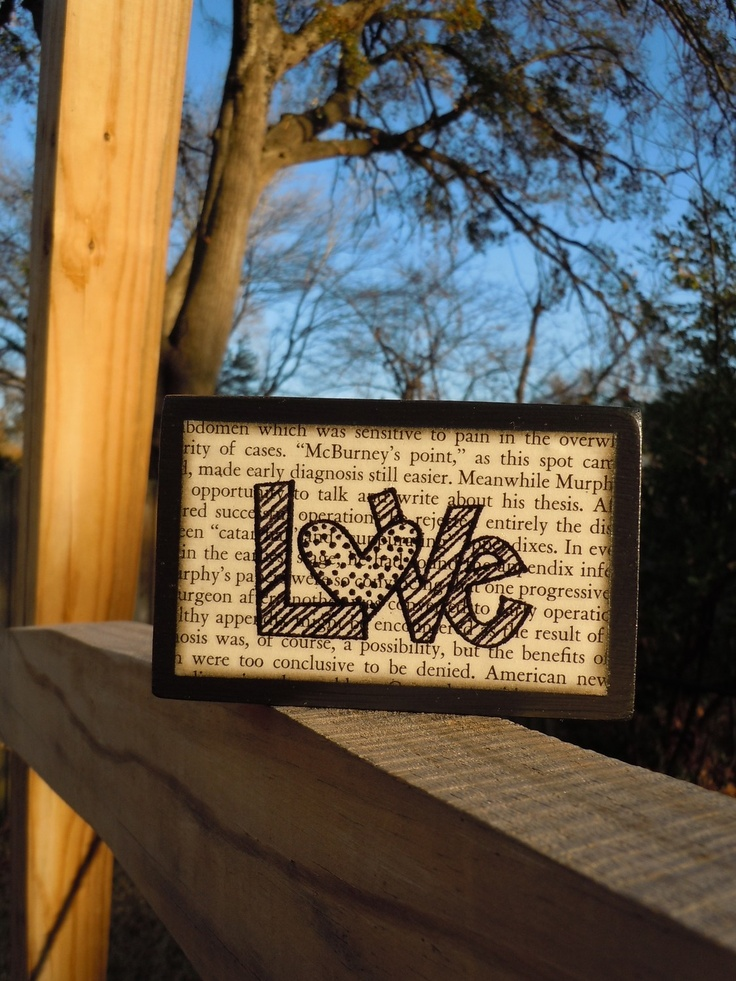 Cute idea (Would be cute to do with a copy of wedding vows ...