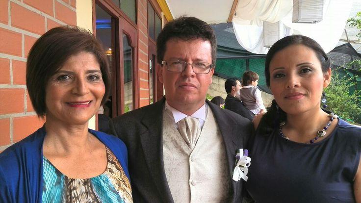 El novio Amparo Eugenia y Sohely