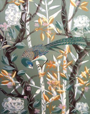 Sur My Tailors&Co des chinoiseries modernes peintes à la main sur toile ou papier, modèles exclusifs de l'atelier l'étoile. Nous avons créé ces chinoiseries librement inspirées de modèles du 18ème siècle, où l'invention d'un monde se fait au fil des pinceaux.