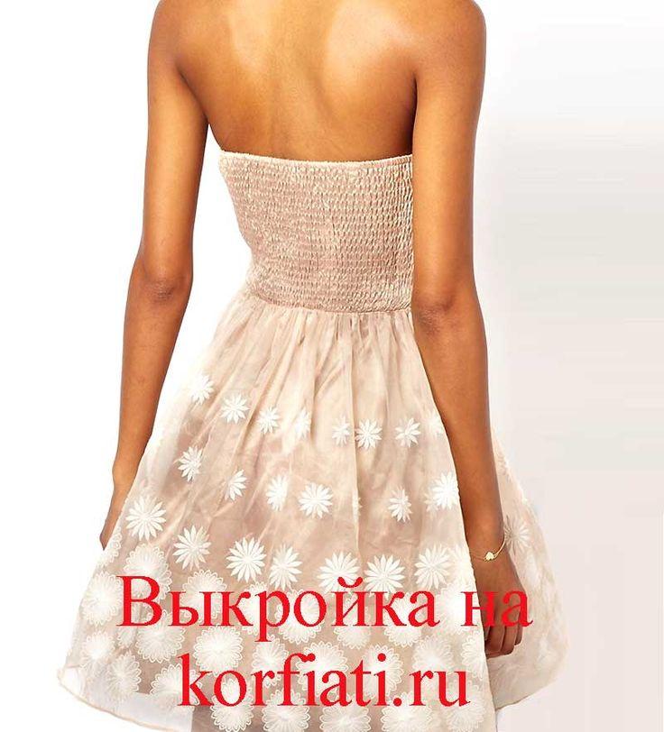 Как сшить платье из шифона - очаровательное платье с лиссировкой по переду лифа, юбкой со сборками по талии и шелковый поясок. Это платье очень понравится..