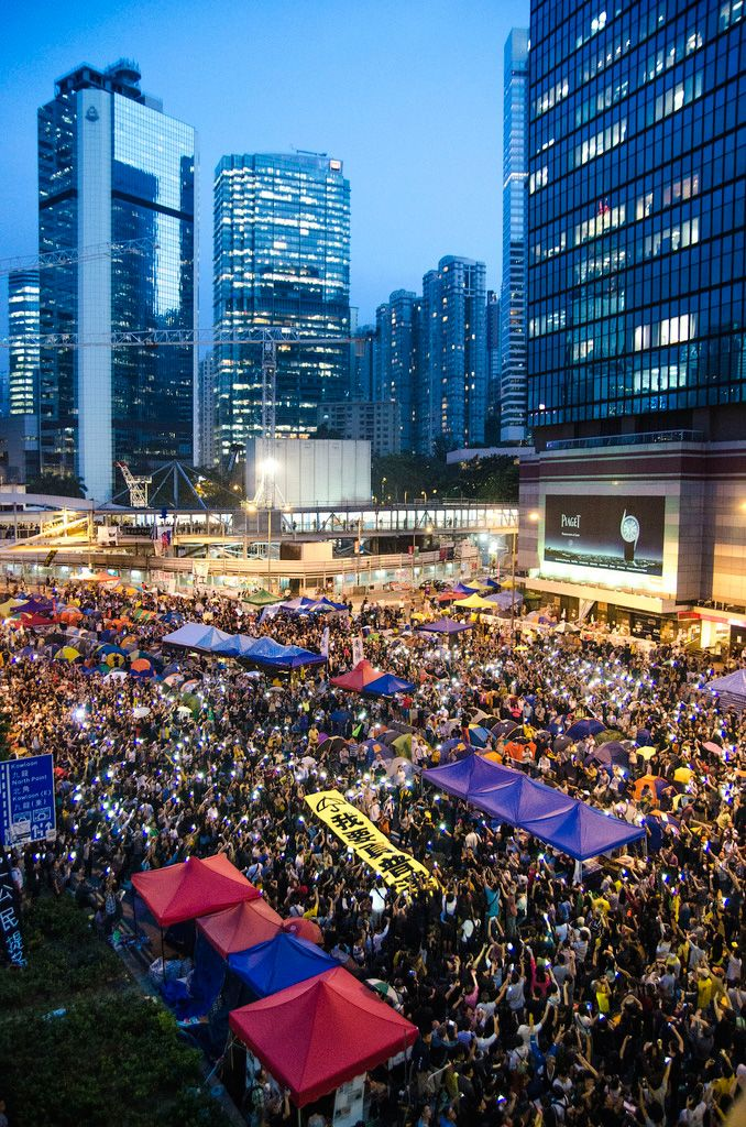 Occupy Hong Kong Central Pro-Democracy movement
