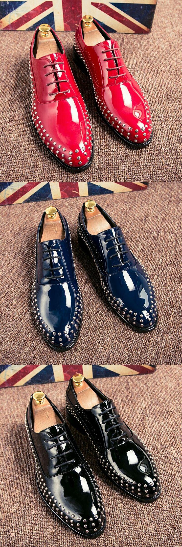 US $25.3 Office Men's Dress Italian Style Wedding Casual Derby Oxford Shoe