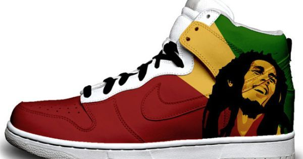 bob marley cake images | Cool Trainers - Custom Nikes from Sneaker Freaker | Cool Things ... #music