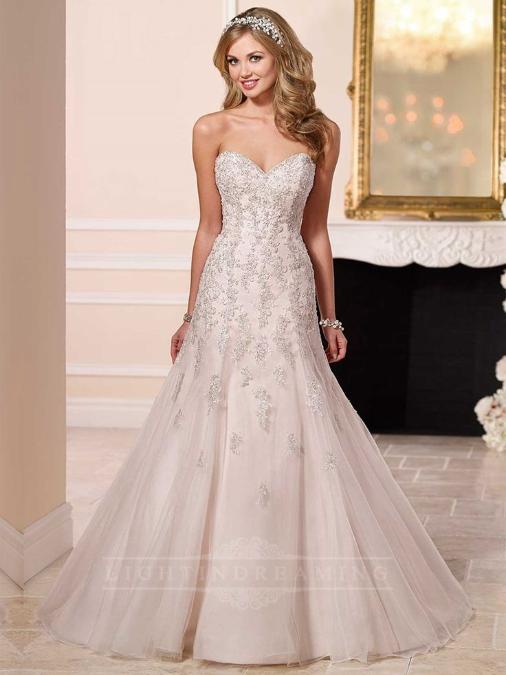 Simply Sweetheart A-line Wedding Dress