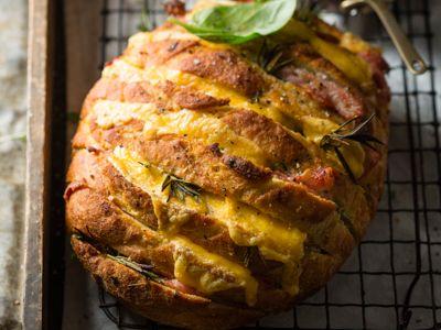 Fênsie knoffelbrood