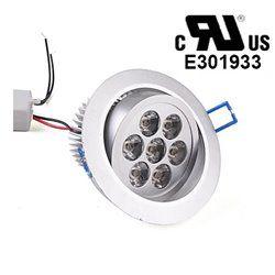 7W Recessed LED Ceiling Downlight Spotlight Lamp Bulb Light AC85-265V