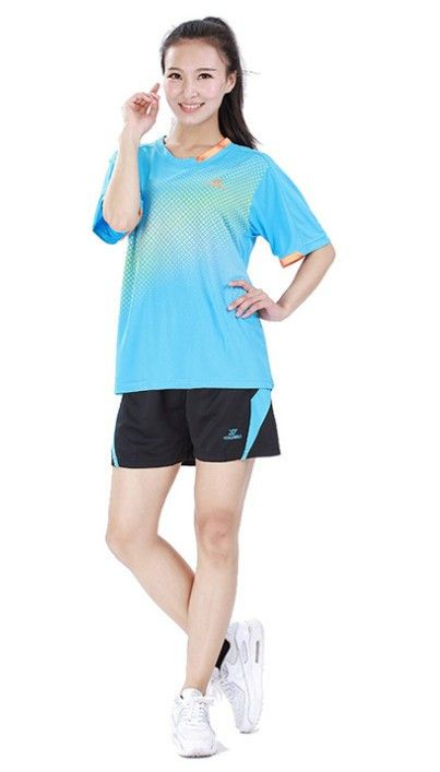 High quality running sports clothes badminton suit lovers women's and men's sports sports table tennis Kit