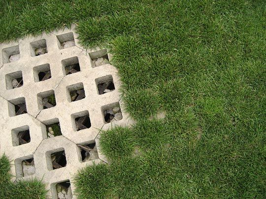 """Awesome explanation of """"green drainage"""" and permeable paving.  Offers a few techniques & ideas."""