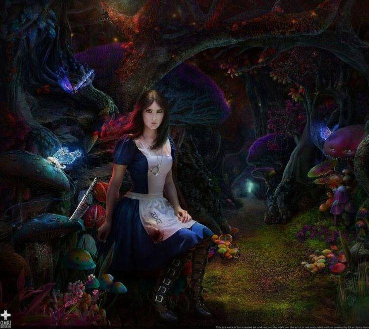 Alice in Wonderland ~Gothic Art | Alice in Wonderland ...