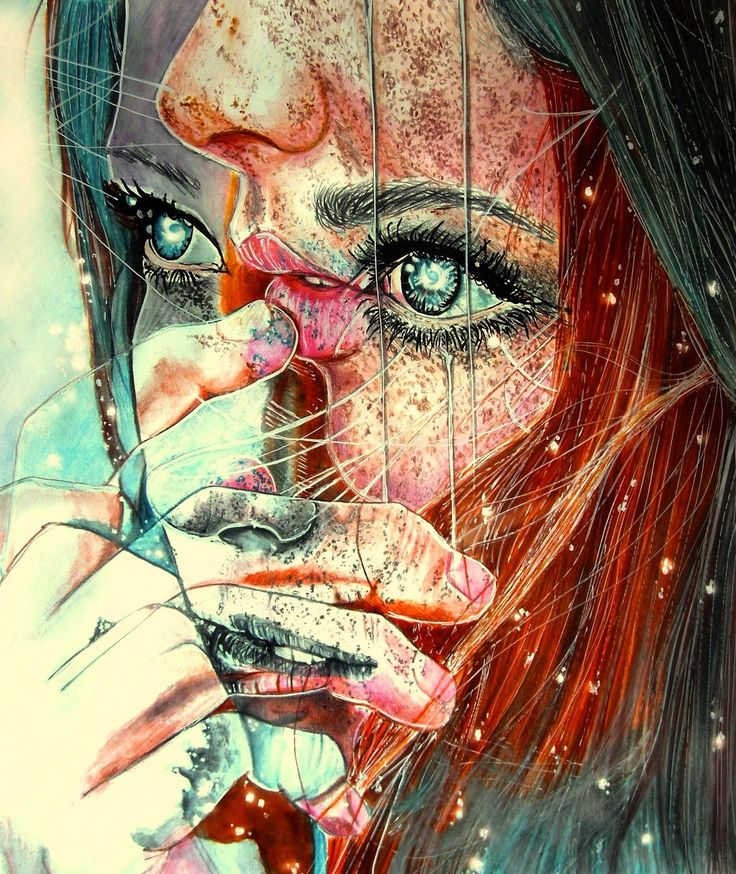 """For a minute there I lost myself"" by Marie-Esther.deviantart.com on @deviantART"
