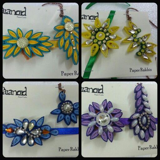 Floral patterned pair rakhi n lumba... by Paranoid