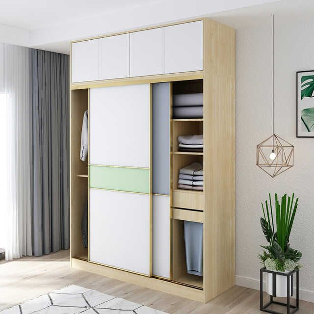Source Modern Style Sliding Door Clothes Cabinet Bedroom Furniture Set Garderobe Multifun Sliding Door Wardrobe Designs Clothes Cabinet Wardrobe Design Bedroom
