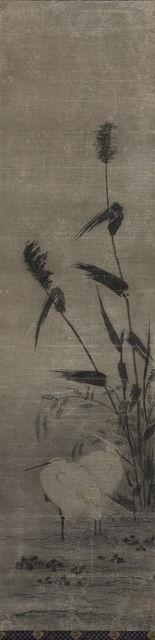 Yamaguchi Sekkei | Two Herons, 1644-1732 | Artsy