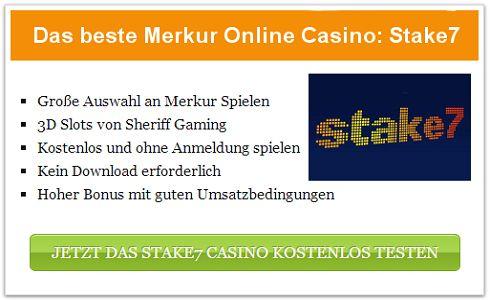 Die besten Merkur Online Casinos 2013 im Test & Vergleich