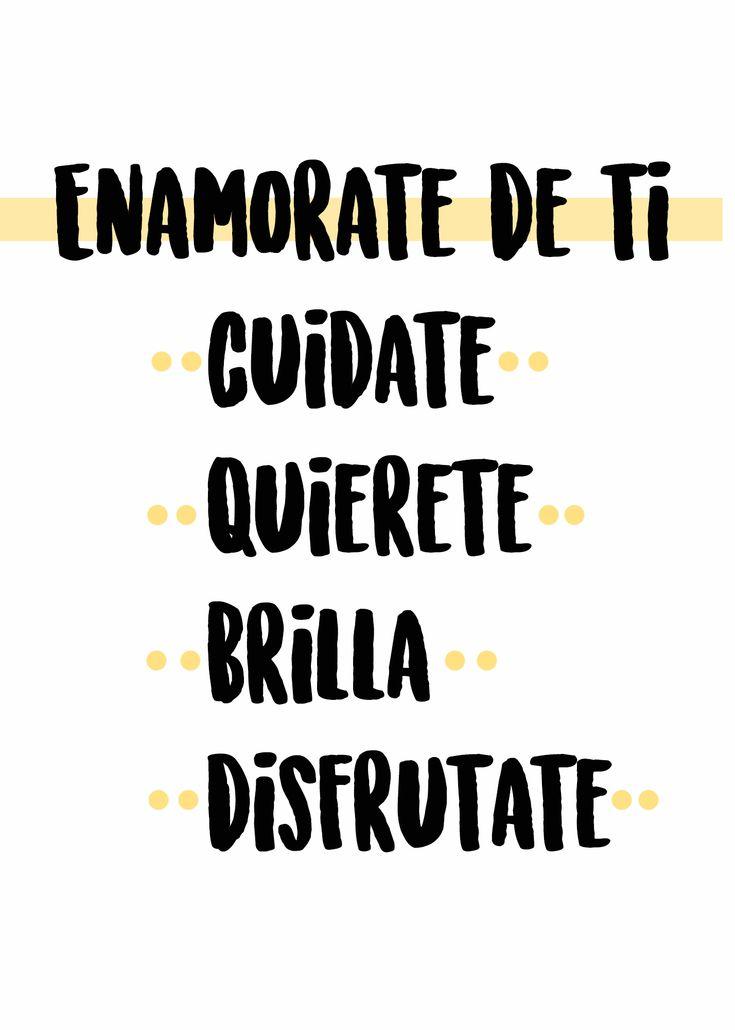 FRASES DE AMOR PROPIO Inspirational Phrases, Motivational Phrases, Positive Phrases, Positive Quotes, Positive Mind, Positive Vibes, Pure Romance, Foto Art, Spanish Quotes
