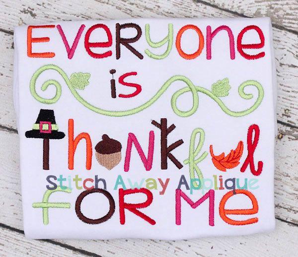 42 best Thanksgiving Applique Designs images on Pinterest